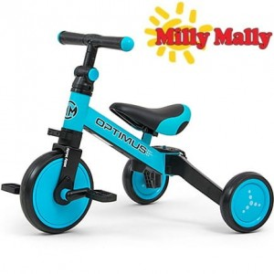 Milly Mally Rowerek 3w1 Optimus Blue